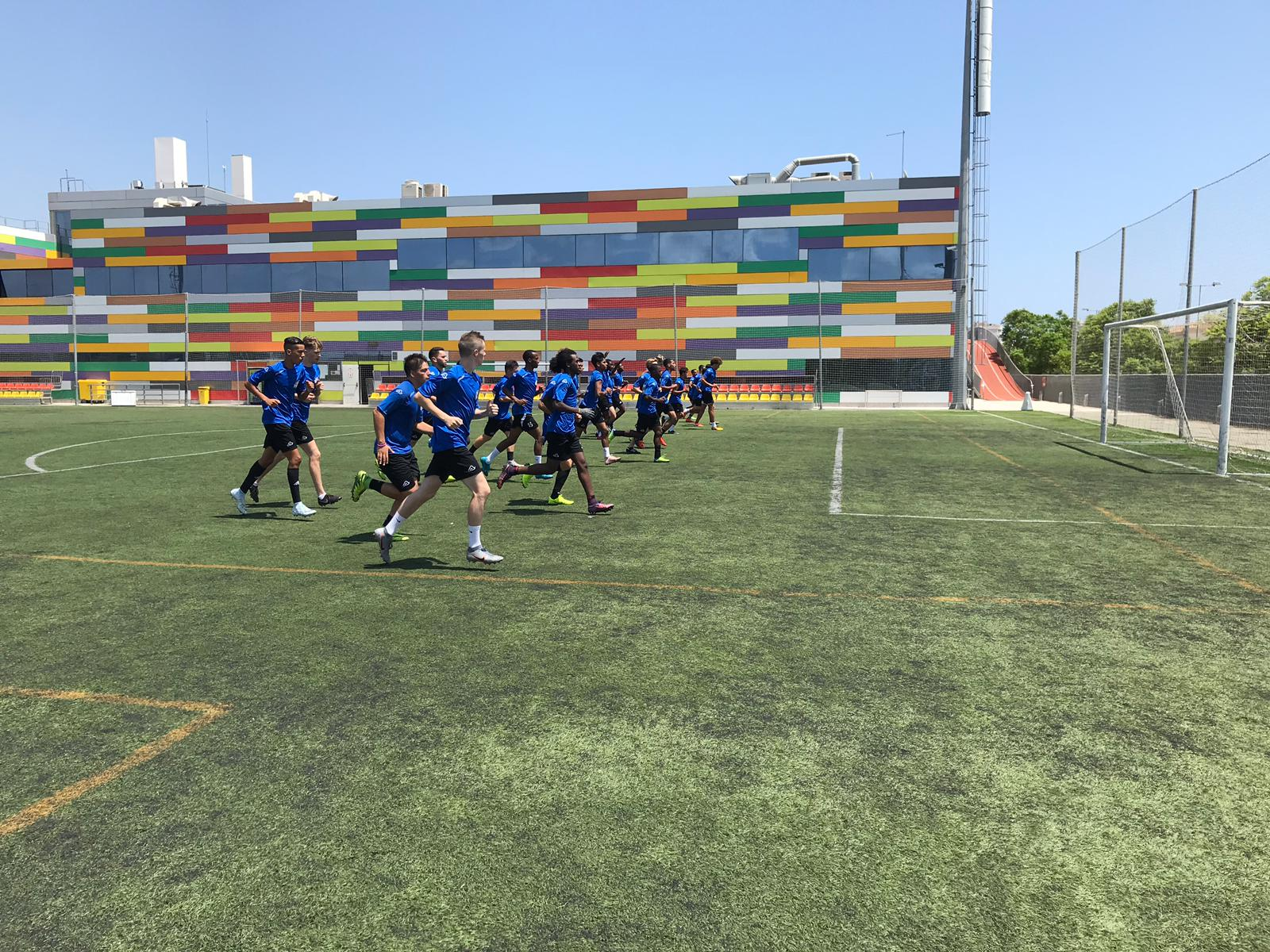 Fitness tests at our Spanish Soccer Academy