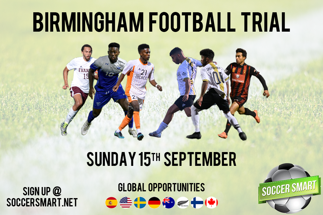 Sign up now to our next UK football trial!