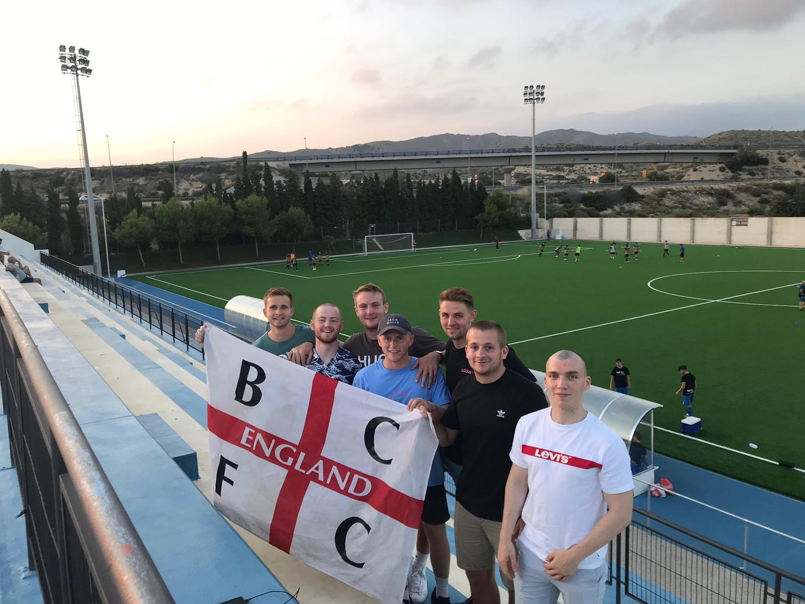 We had fans from England supporting Alicante City in pre-season action this week!