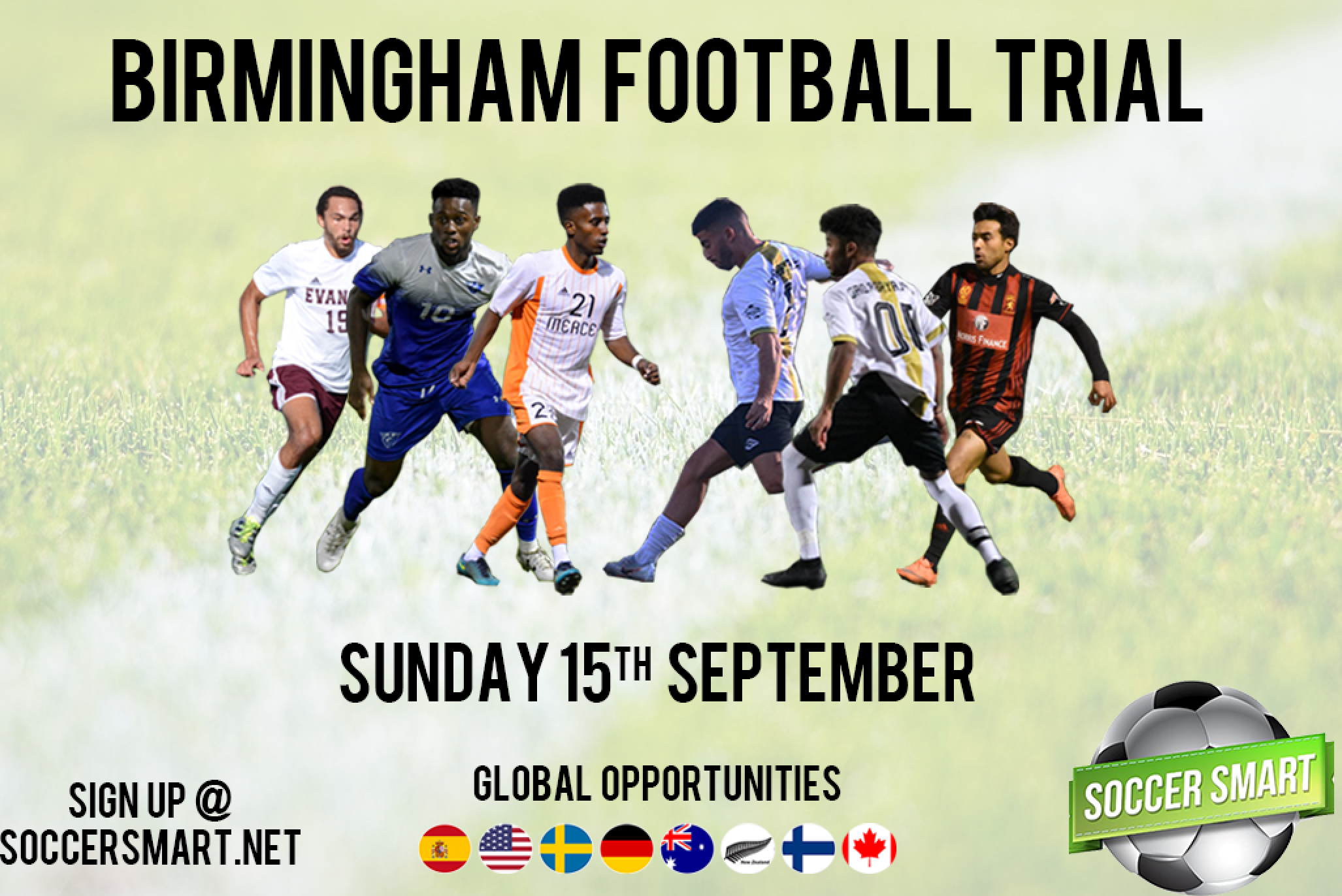 Our Birmingham trial is next month, make sure you sign up!