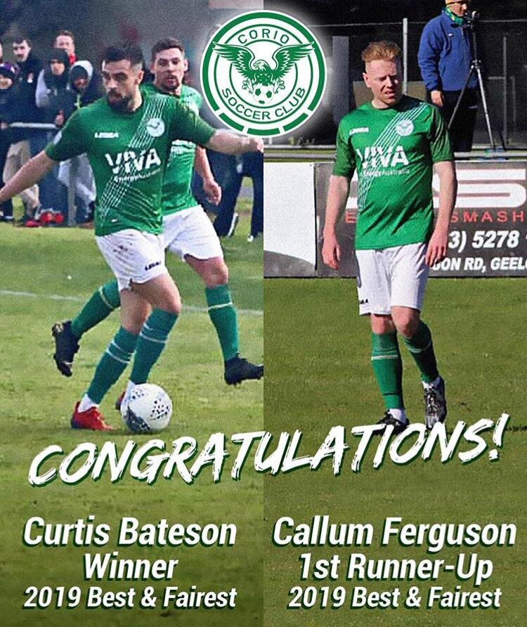 Curtis Bateson named as best player after playing soccer in Australia