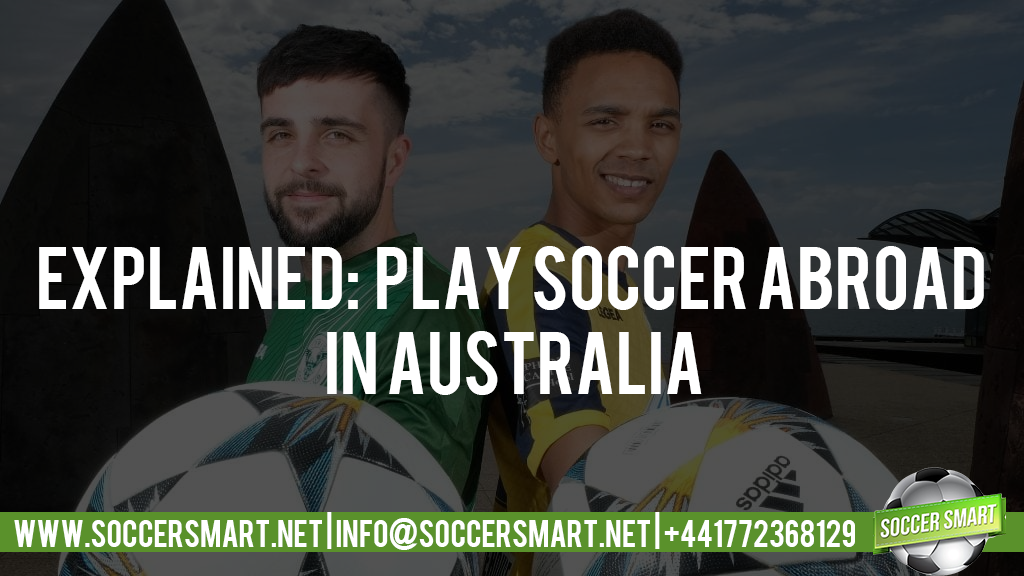 You too can play football abroad in Australia, click the button below!