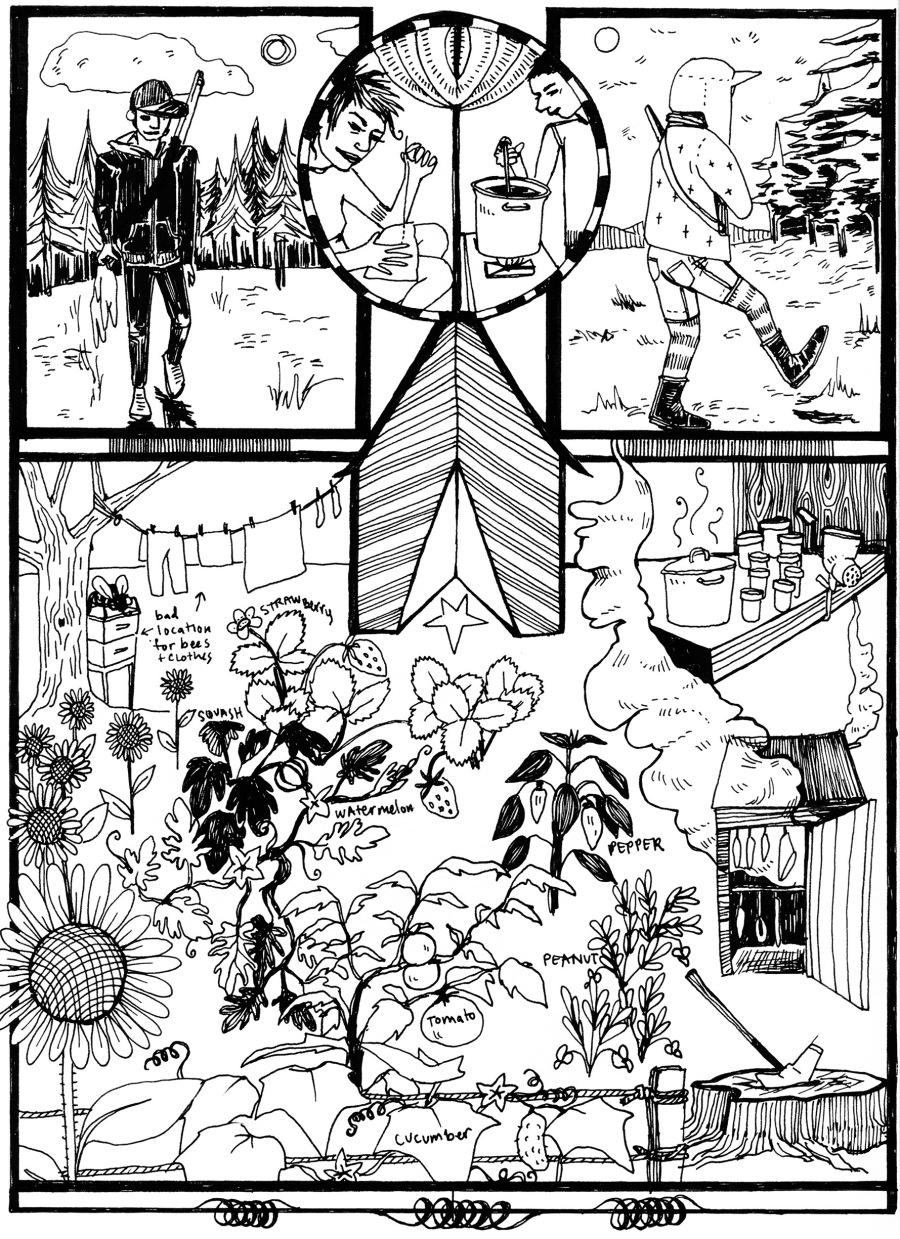 Off Grid comic excerpt
