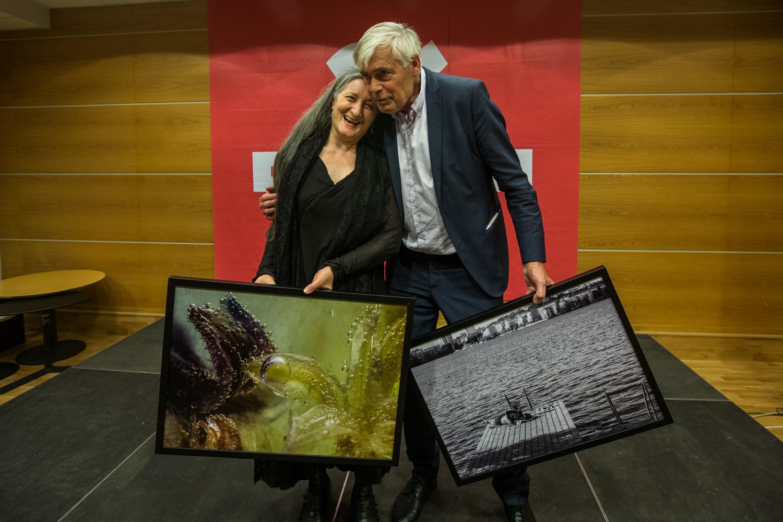 Ana Laguna y Johan Falk