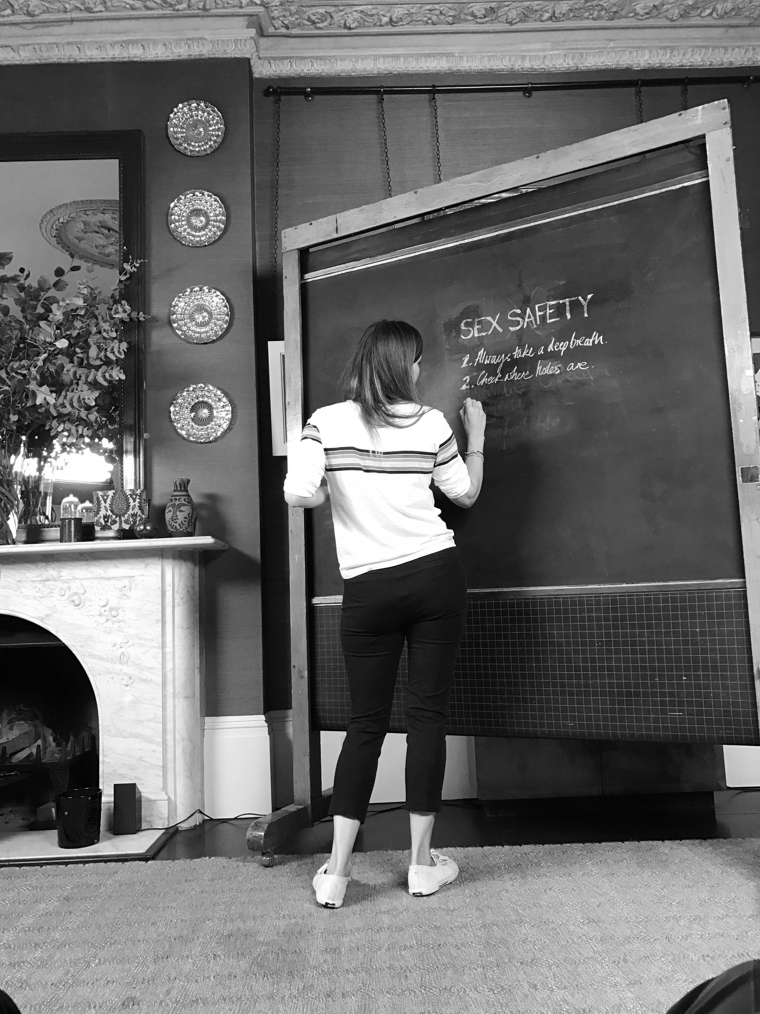 BTS MARIO TESTINO X SEX. EDUCATION VIDEO