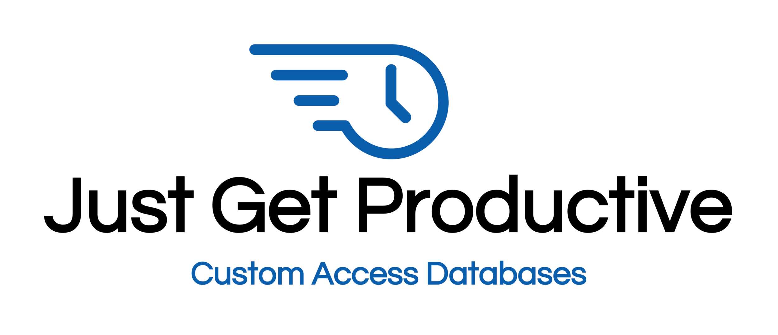Logo of Just Get Productive LLC, Custom Access Databases