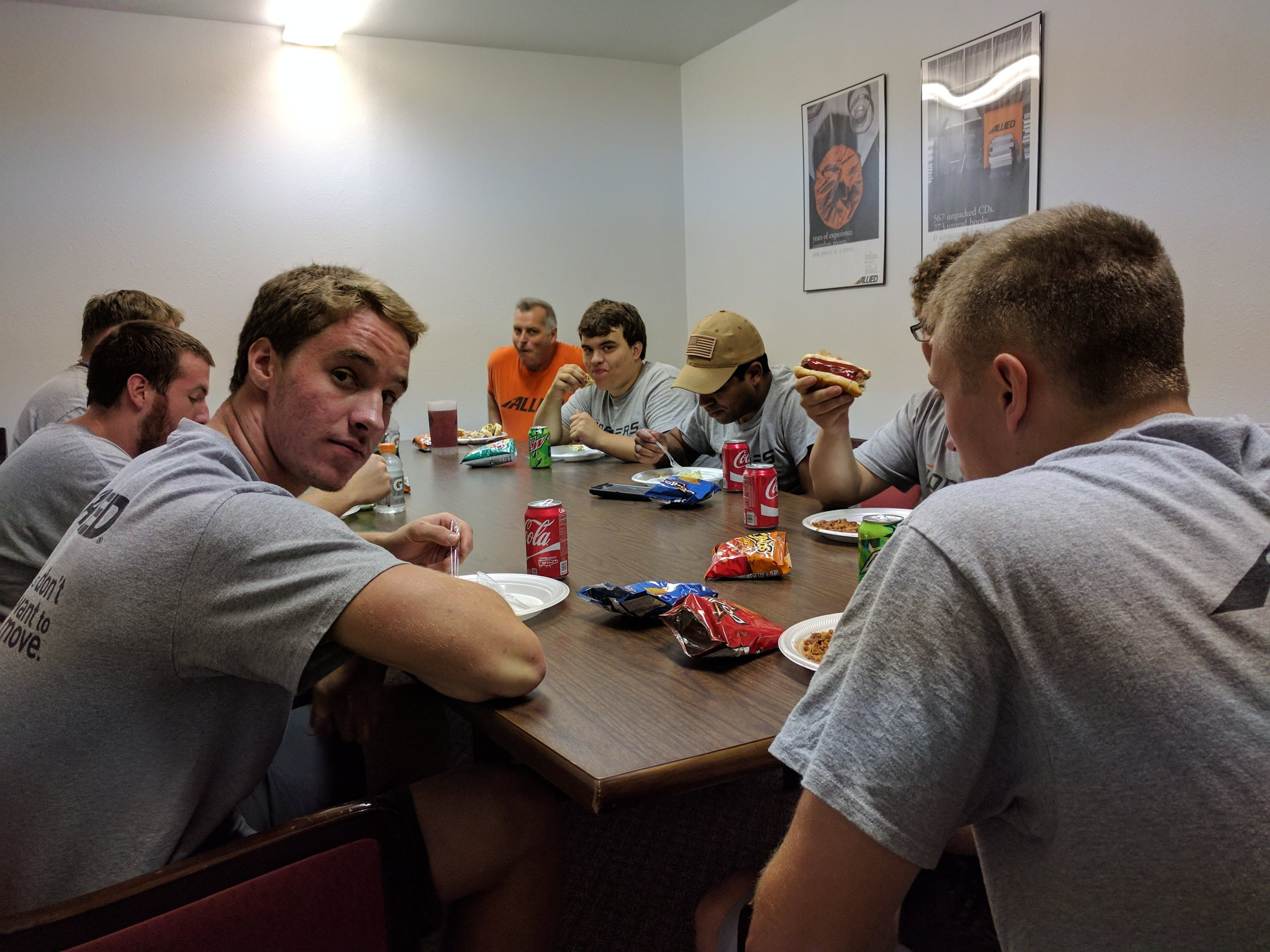 Summer Crew Last Day August 2017
