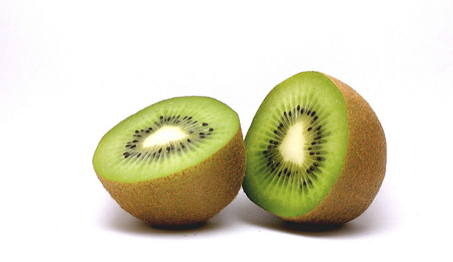 Kiwi's are delicious, but sacrificing their consumption to treat your cancer is probably a worthy trade-off. Image from Flickr user eldholm. Click for source