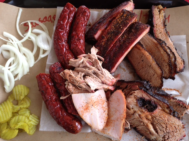 BBQ ON THE BRAZOS  Home: 9001 E. Highway 377, Cresson, Texas  Owner & Pitmaster: John Sanford  Any skepticism you might have about a barbecue restaurant next to a gas station is quickly squashed once you go inside BBQ on the Brazos, which has become a favorite stop for barbecue lovers from around the state.  John Sanford has quickly made a name for himself in this tiny town, so much that folks from all over the Metroplex are making the trip to Cresson for his brisket and pork ribs, among other great options.   Read More:  https://tmbbq.com/bbq-on-the-brazos-2013/