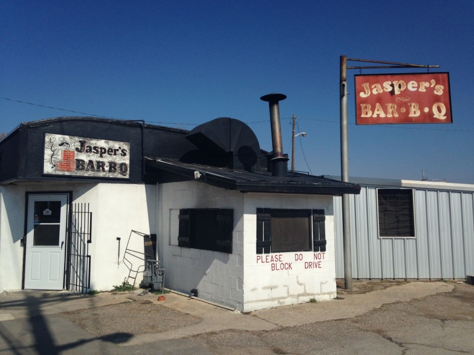 JASPER'S BAR-B-Q    Home: 105 Clifton Street, Waco, Texas  Owner & Pitmaster: Lance Payne  Old-school. In fact, the oldest barbecue joint in Waco - serving it up to Wacoans for nearly 100 years. Jasper's Barbecue began in 1919 by Jasper DeMaria. Jasper started in the business by selling fruit out of a wagon, as well as out of a small fruit stand. He rented the place known as Jasper's on Clifton Street to sell fruit until he decided to give the restaurant business a try. Just like in the past at Jasper's,you can still get your fill of sausage, beef and a Coke or Nehi drinks. All sold on butcher paper with a side of the famous gravy and hot sauce,still made from the original recipe today.   Read More:  https://tmbbq.com/i-say-demaria-you-say-dimaria/