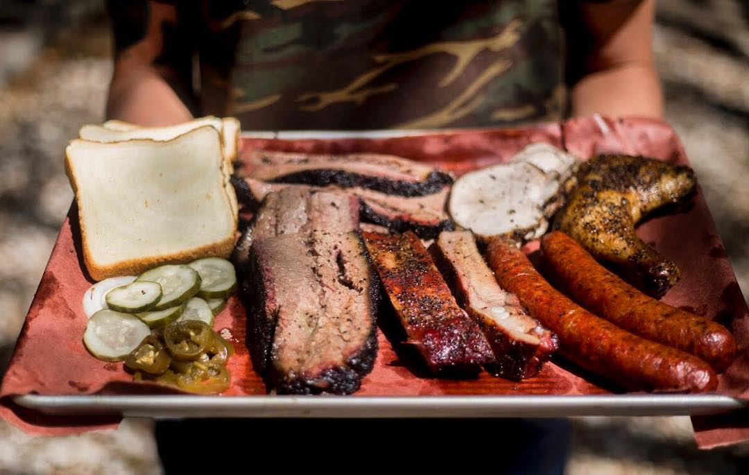 H   ELBERG BARBECUE Home:  2223 Austin Avenue, Waco, Texas  Owner & Pitmaster:  Phillip and Yvette Helberg  The secret is out as Waco's newest barbecue trailer has built quite a buzz after only opening the spring. Utilizing locally-sourced meats, Phillip and Yvette Helberg are putting heart and soul into their Central Texas barbecue - and it doesn't disappoint.  Helberg Ranch takes pride in traditional values and making everyone feel like a part of the family. And what better way to celebrate family than with some homemade Texas barbecue.