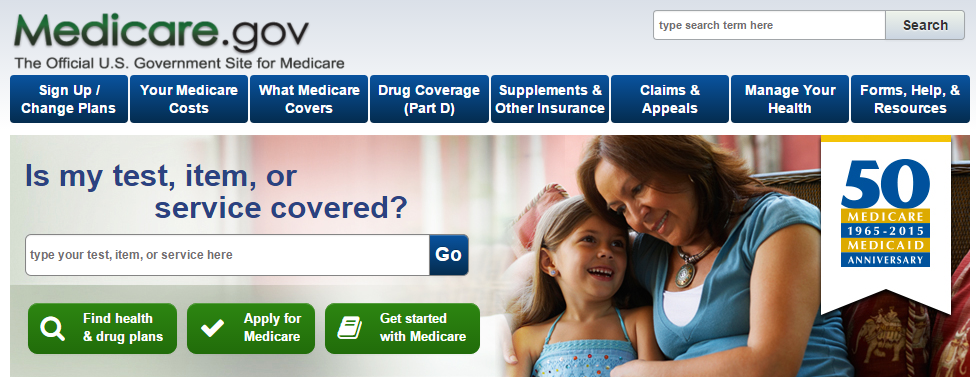 The  Medicare.gov website  has a lot of information and is worth exploring.