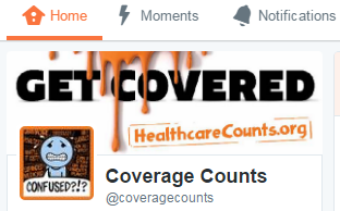 Follow us on Twitter @coveragecounts