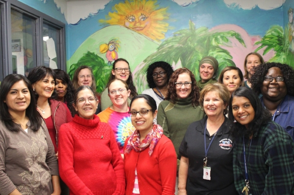 Washtenaw Cty WIC office staff.