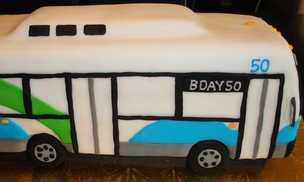 Happy 50th Birthday to  The Ride ! Cake picture from  sayitwithcake.ca .