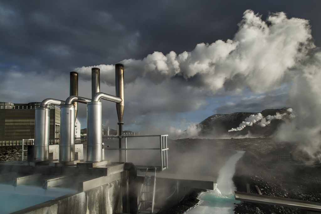 Larry Louie,  Geothermal Energy , Iceland 2016