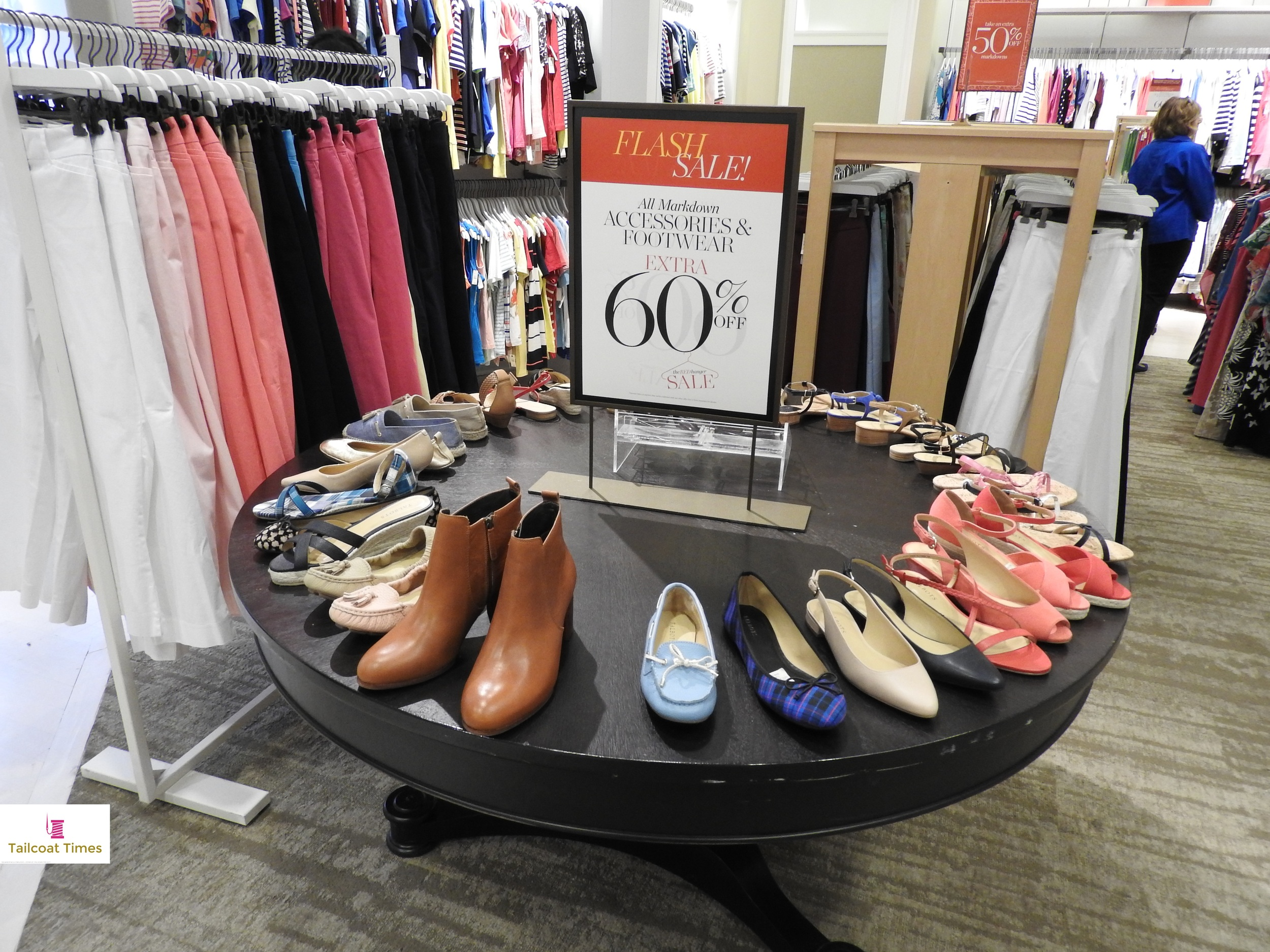 BCFWeek 2015 - Talbots - Shoes.JPG