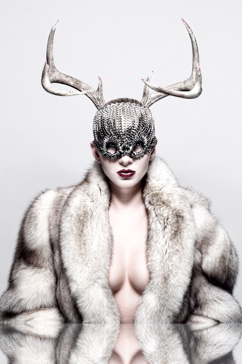 Credits - Photo: Ross Gronvold, MUA: Ysabella Chorizo, Model: Kasha Carvalho, Mask: TRacy by Tracy Belben