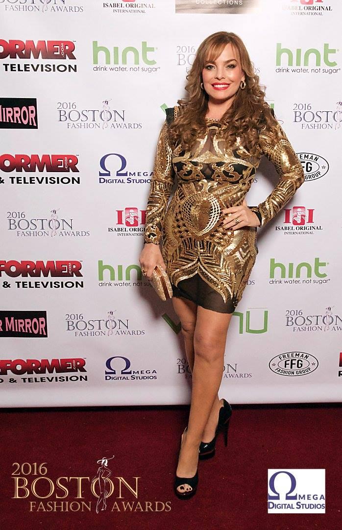 Boston Fashion Awards 2016 - Designer Isabel Lopez (Isabel Originals)