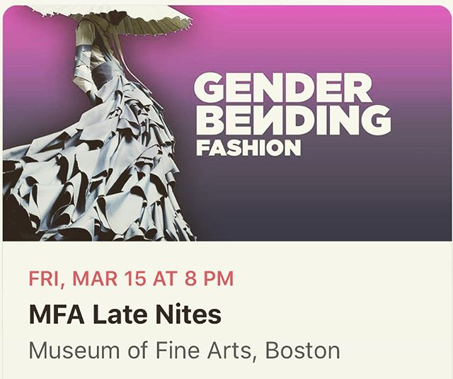 #mfaboston #fashion #mfalatenites