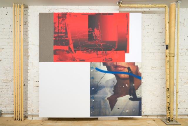 Installation view, 'Promise Problem', Osmos Address, New York, 2015. Photo by Adam Reich, courtesy of Osmos Address, New York. Artwork by Chris Dorland, 2015.