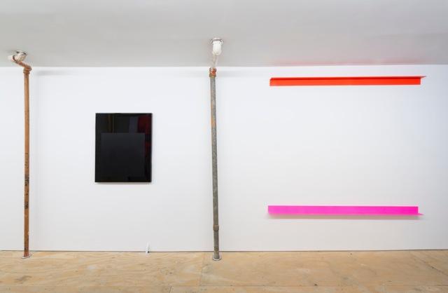 Installation view, 'Promise Problem', Osmos Address, New York, 2015. Photo by Adam Reich, courtesy of Osmos Address, New York. Artwork by Gerold Miller, 2015.