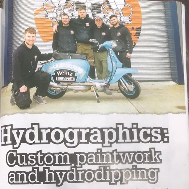 Check out our feature in this months scootering magazine🛵