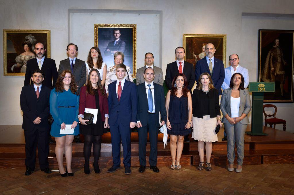 Ganadores del primer premio junto al comité EUSTORY | Foto: Juan Jesús (Centro Imagen)