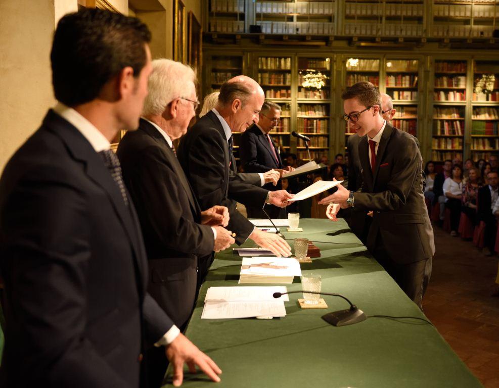 Raül Molla recibiendo su premiación | Foto: Juan Jesús (Centro Imagen)