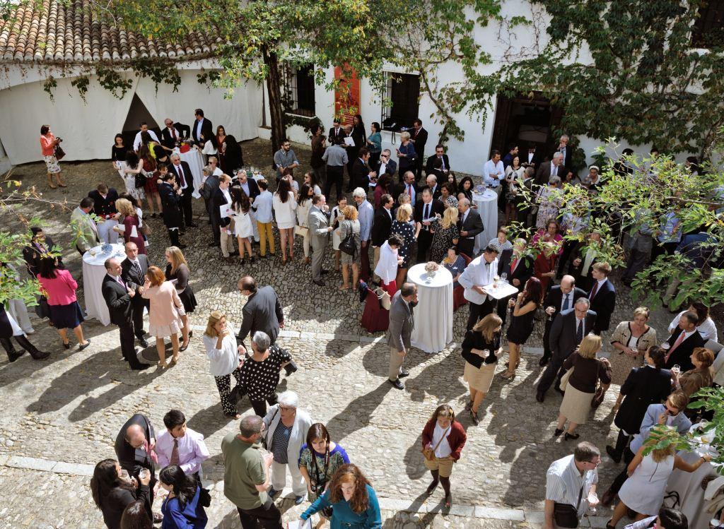 Catering de cierre de la ceremonia | Foto: Juan Jesús (Centro Imagen)