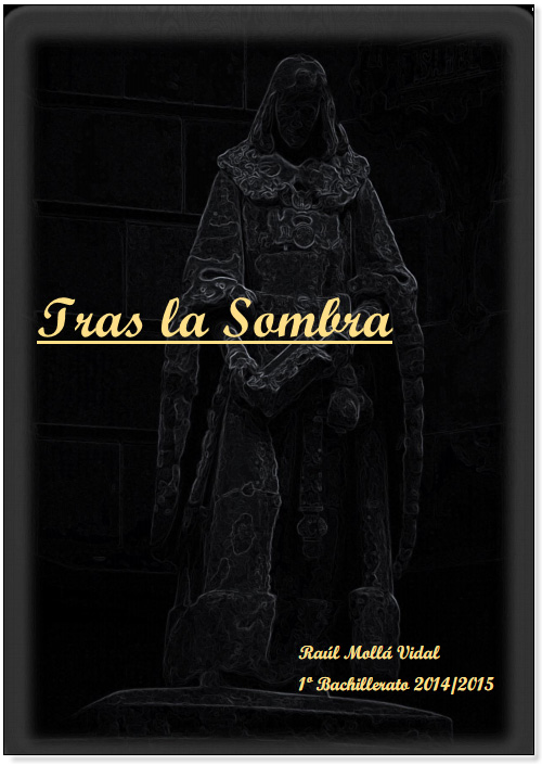 "3º premio ""Tras la sombra"" Raül Molla Vidal."