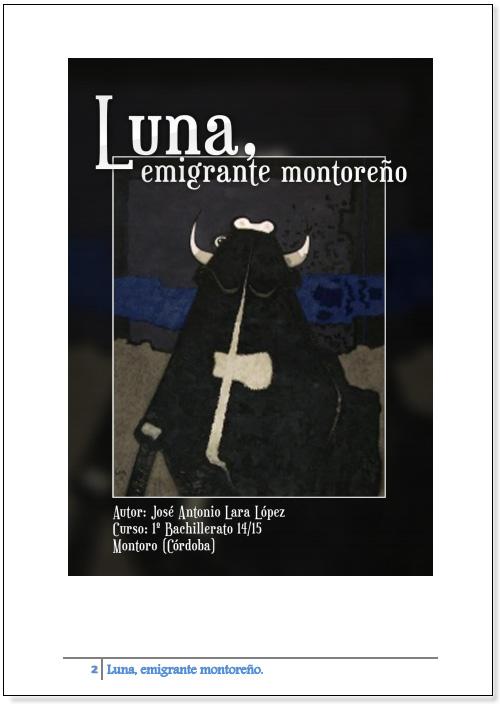 "Accesit ""Luna emigrante montoñero"" José Antonio Lara López."