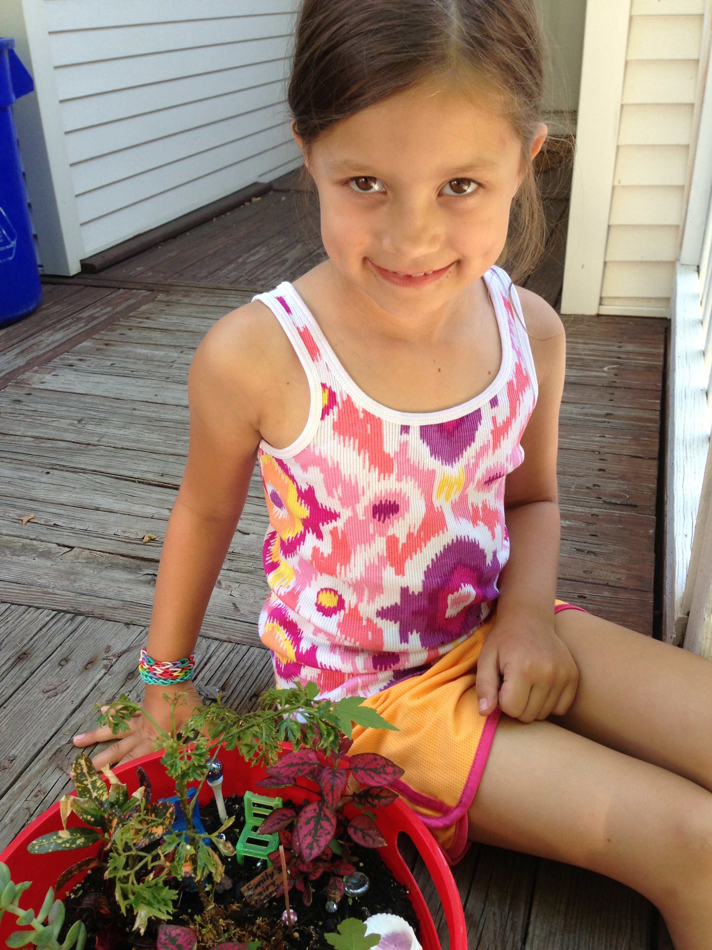What child wouldn't love creating their own fairy garden?
