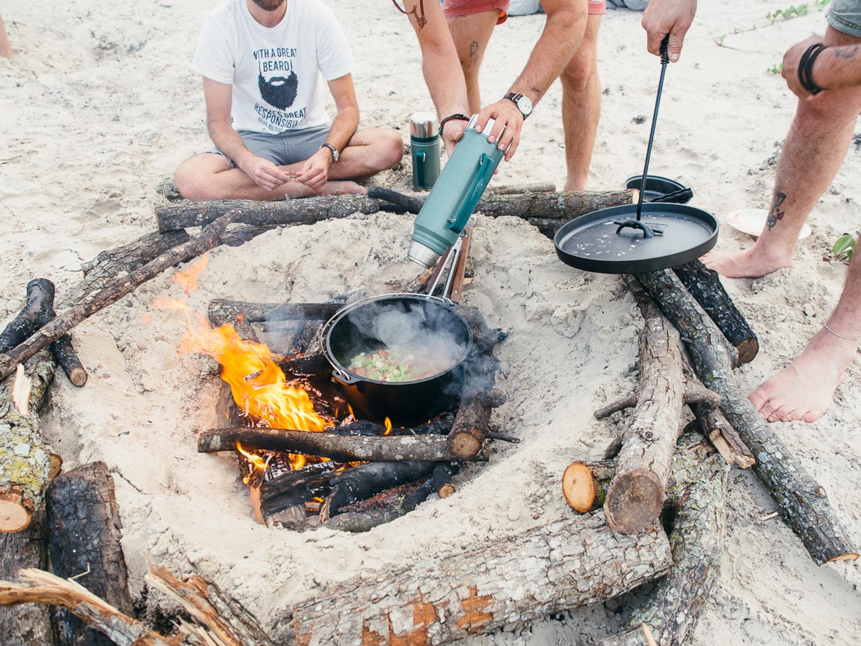 cooking jambalaya camp pawlowski america yall mustang island camping beach texas (8 of 21).jpg