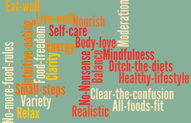 Jodi's nutrition philosophy