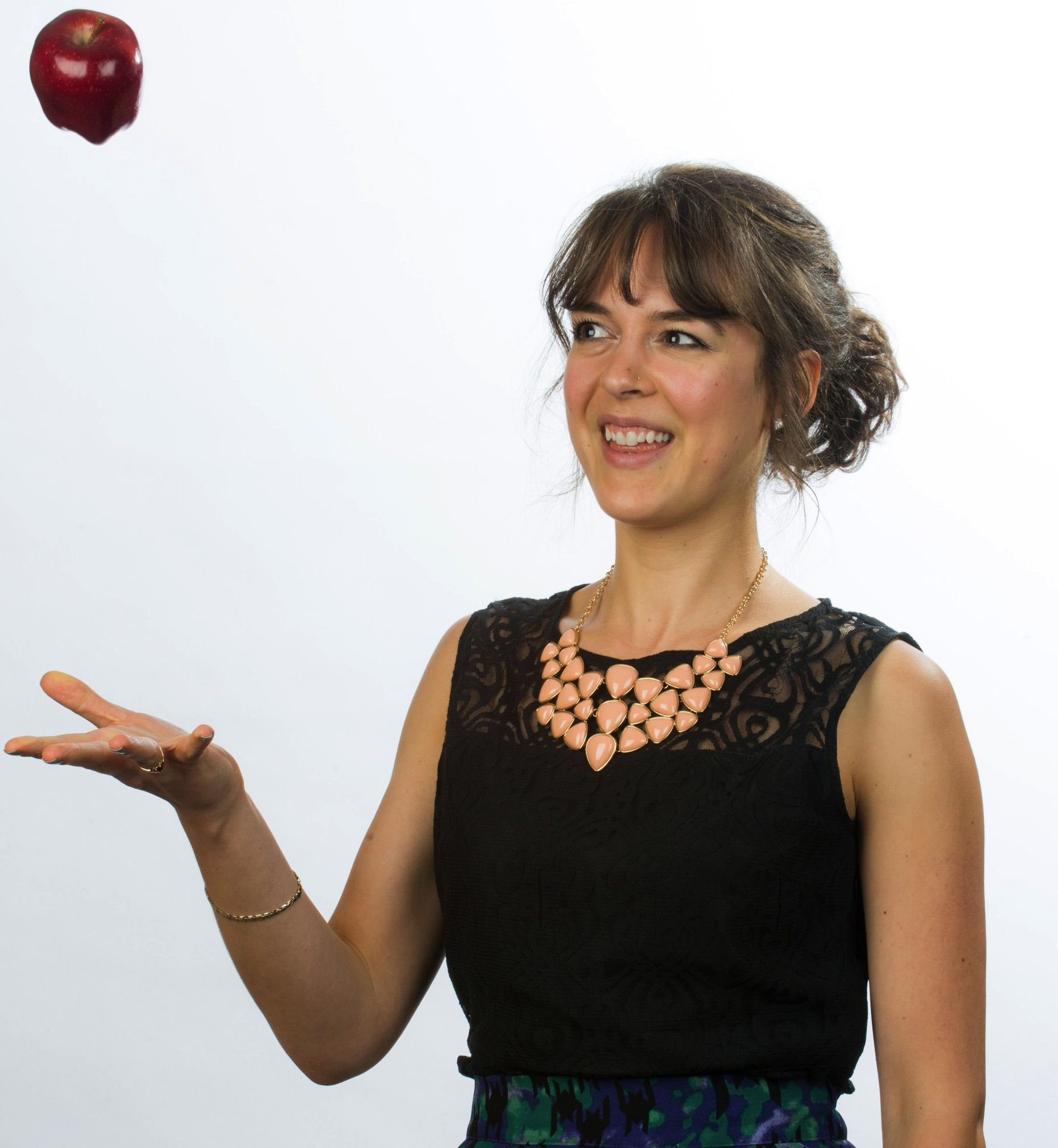 Amanda Hamel, Registered Dietitian  Client Services Coordinator & popcorn addict