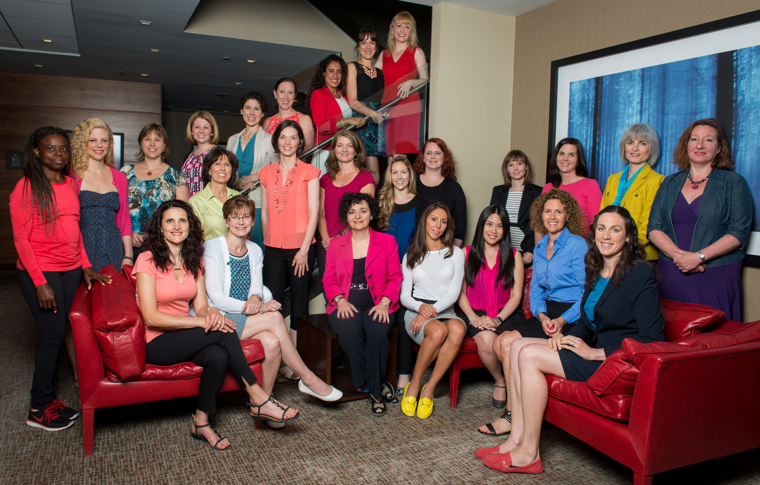 Your friendly-neighbourhood dietitians! This picture was taken a few years back at a national dietitian conference in Ottawa of consulting dietitians across Canada.