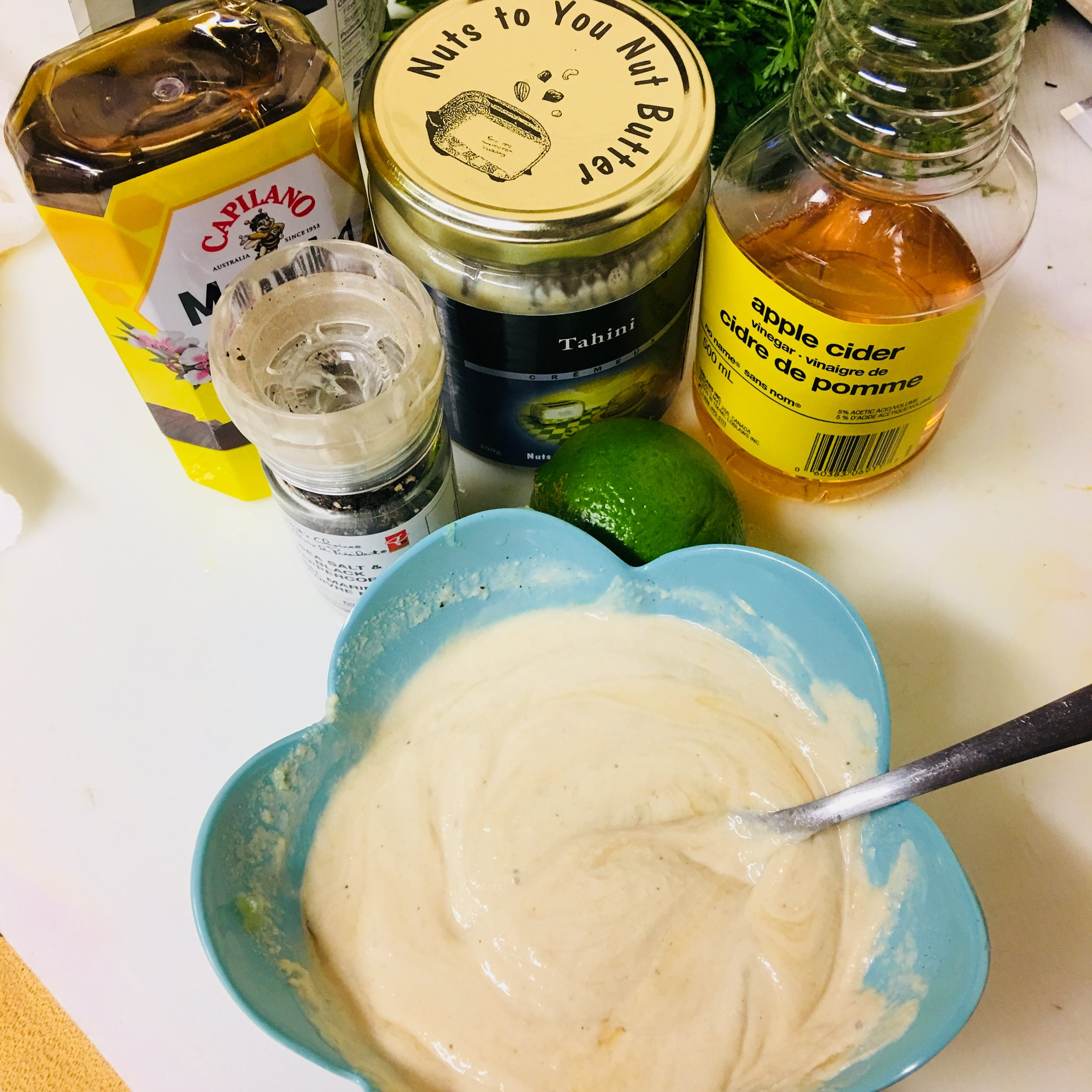 Did you know? - Tahini is a paste made from finely ground sesame seeds!