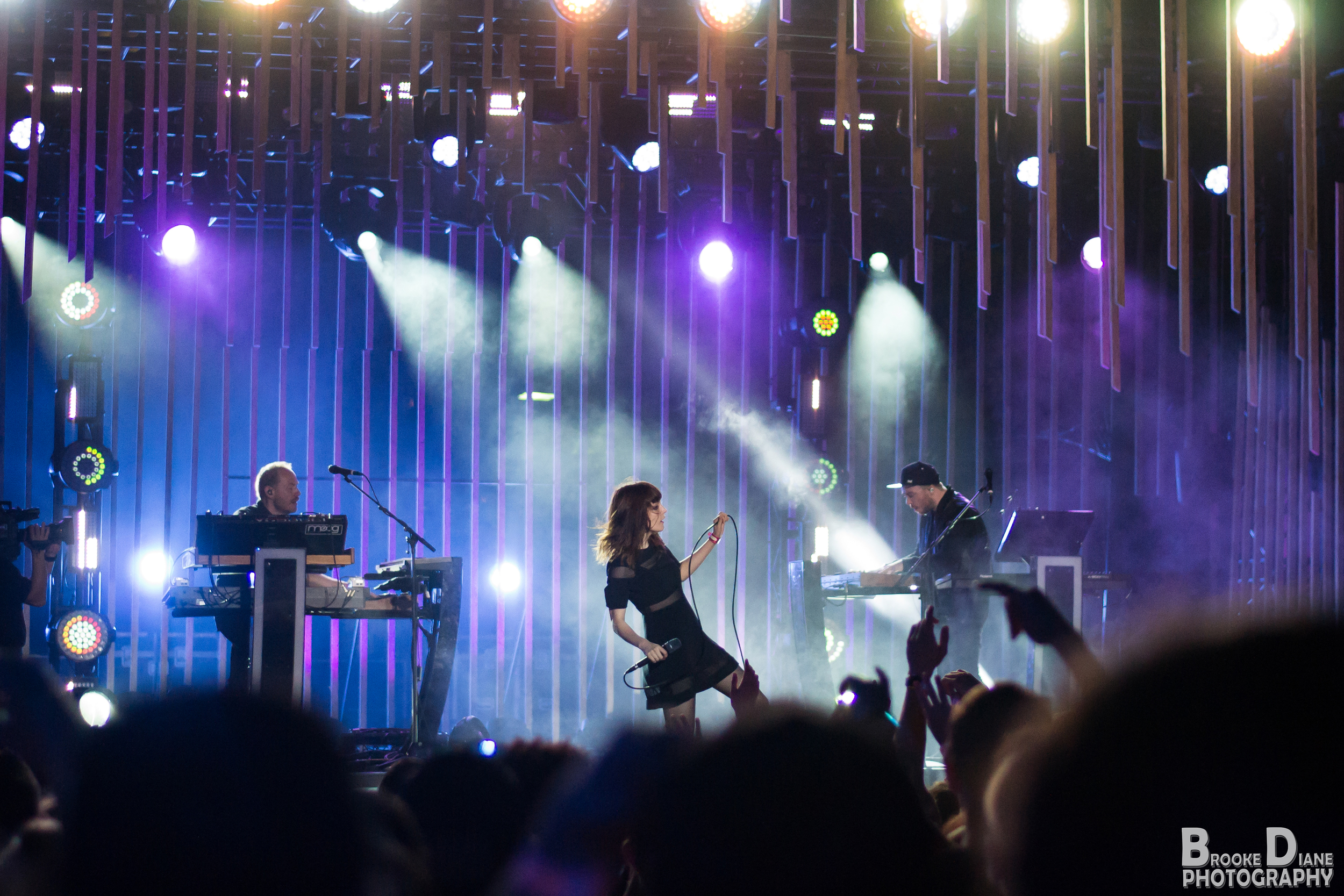 CHVRCHES, MTV Woodies 2016
