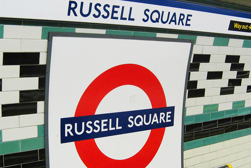 I'm located in Bloomsbury. Closest tubes are russell square station or Holborn station.