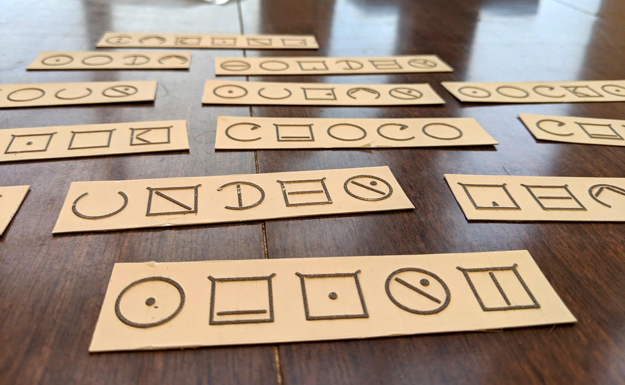 """ELIA Frame individual adhesive labels with """"baking"""", """"soda"""", """"powder"""", """"sugar"""", """"socks"""", """"choco"""", """"under"""", and """"shirt""""."""