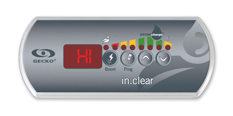 indicateur HI sur votre clavier in.clear