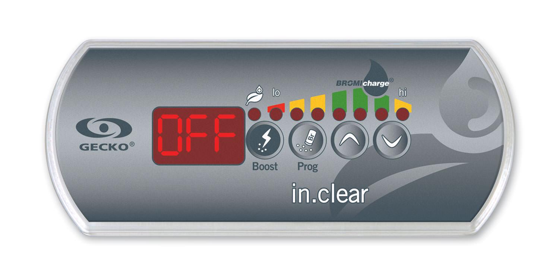 indicateur OFF sur votre clavier in.clear
