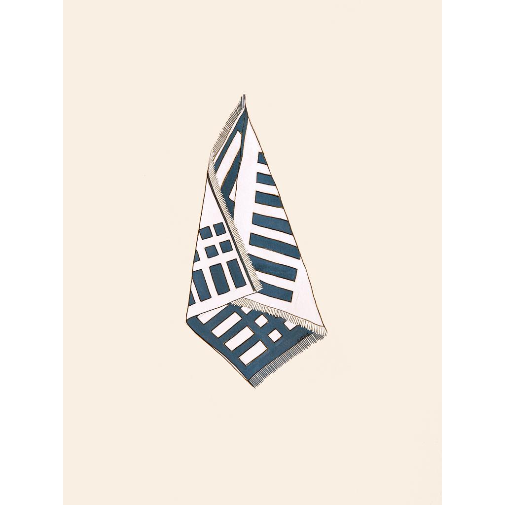 Wrap, 11.25x15 inches, gouache + graphite on paper, 2015