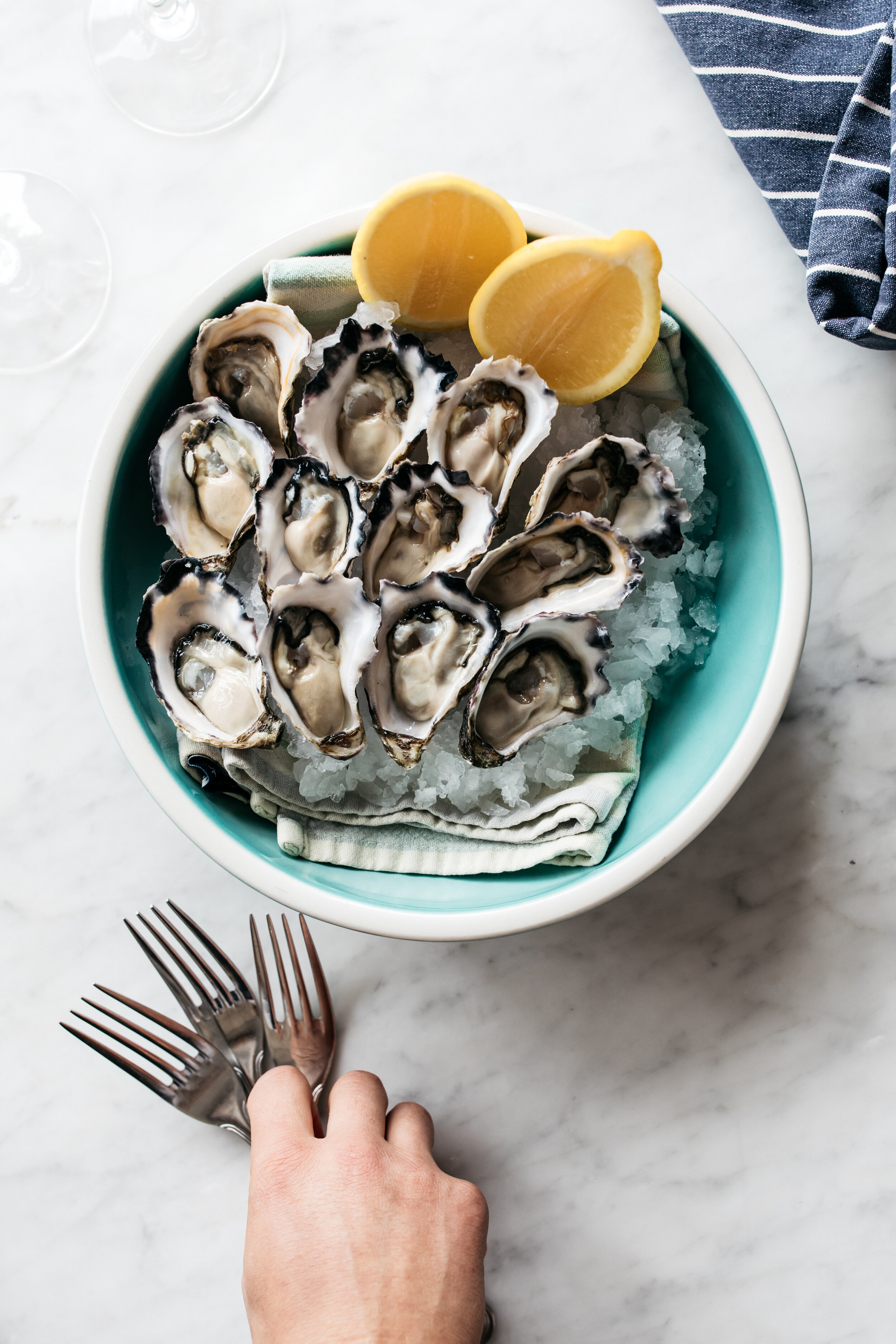 On the menu at Barrenjoey House Palm Beach: Sydney Rock Oysters