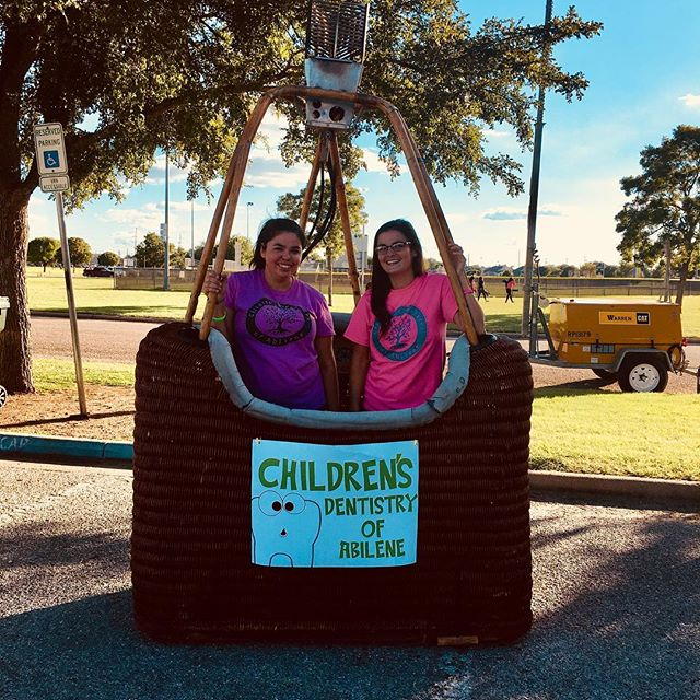 Come out and see us at The Big Country Balloon Festival. There are food trucks, bounce houses, knocker balls, hot air balloons and more! #BigCountryBalloonFest #ChildrensDentistryOfAbilene