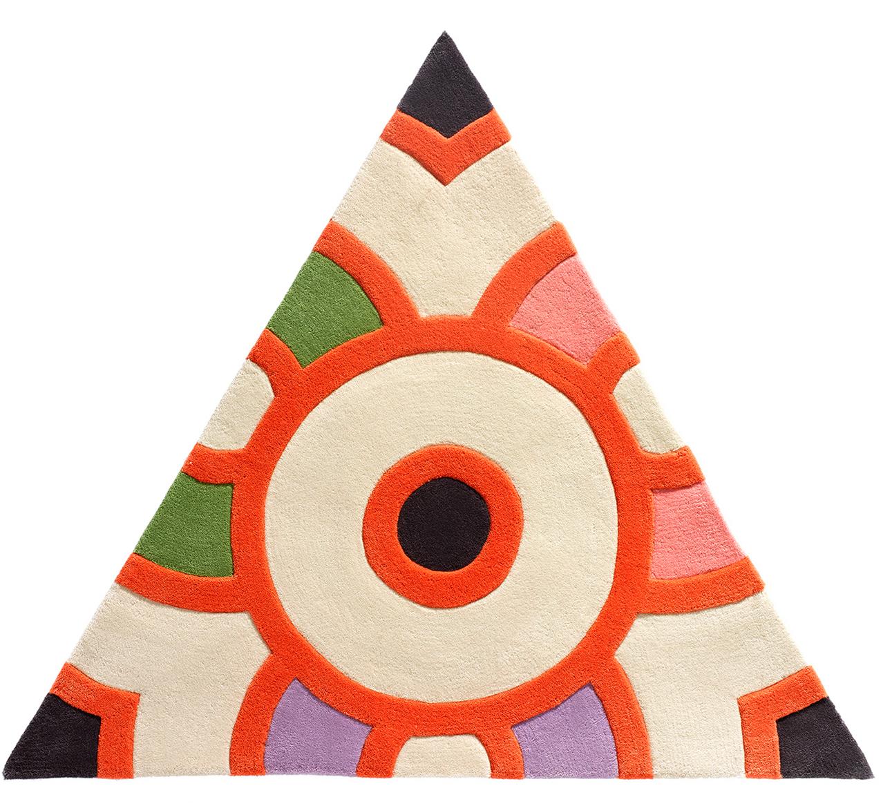 Tangerine Circle Dot  SKU: CWKG-TRI-101