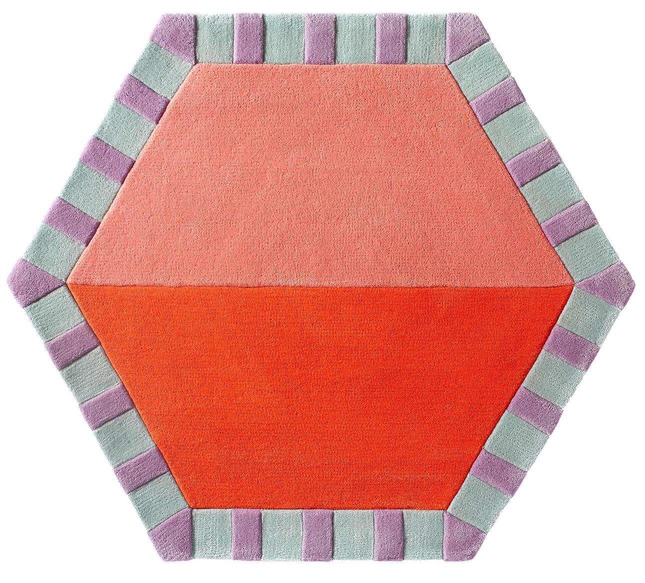 Cotton Candy / Tangerine Color Split  CWKG-HEX-201