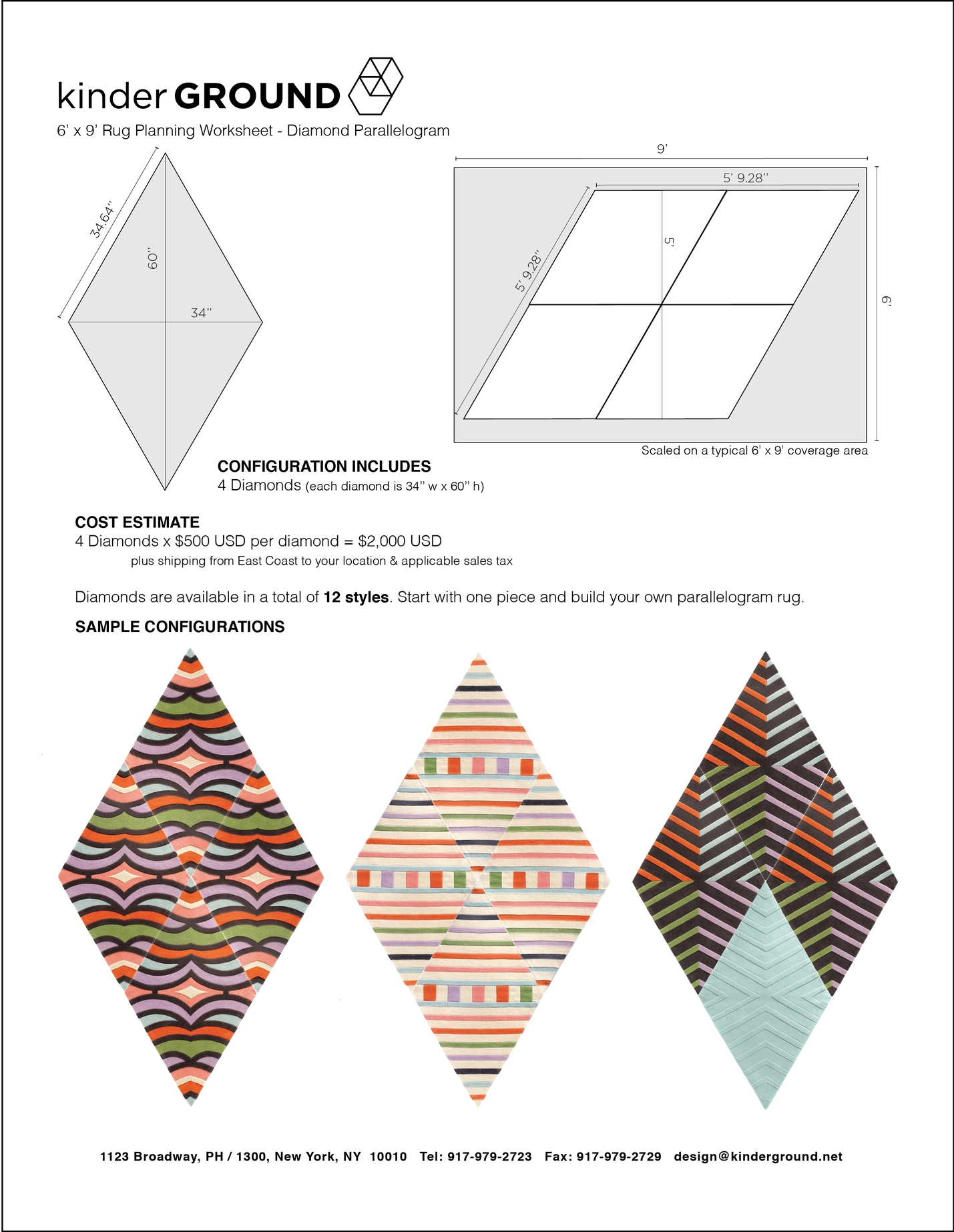 4-Diamond Parallelogram