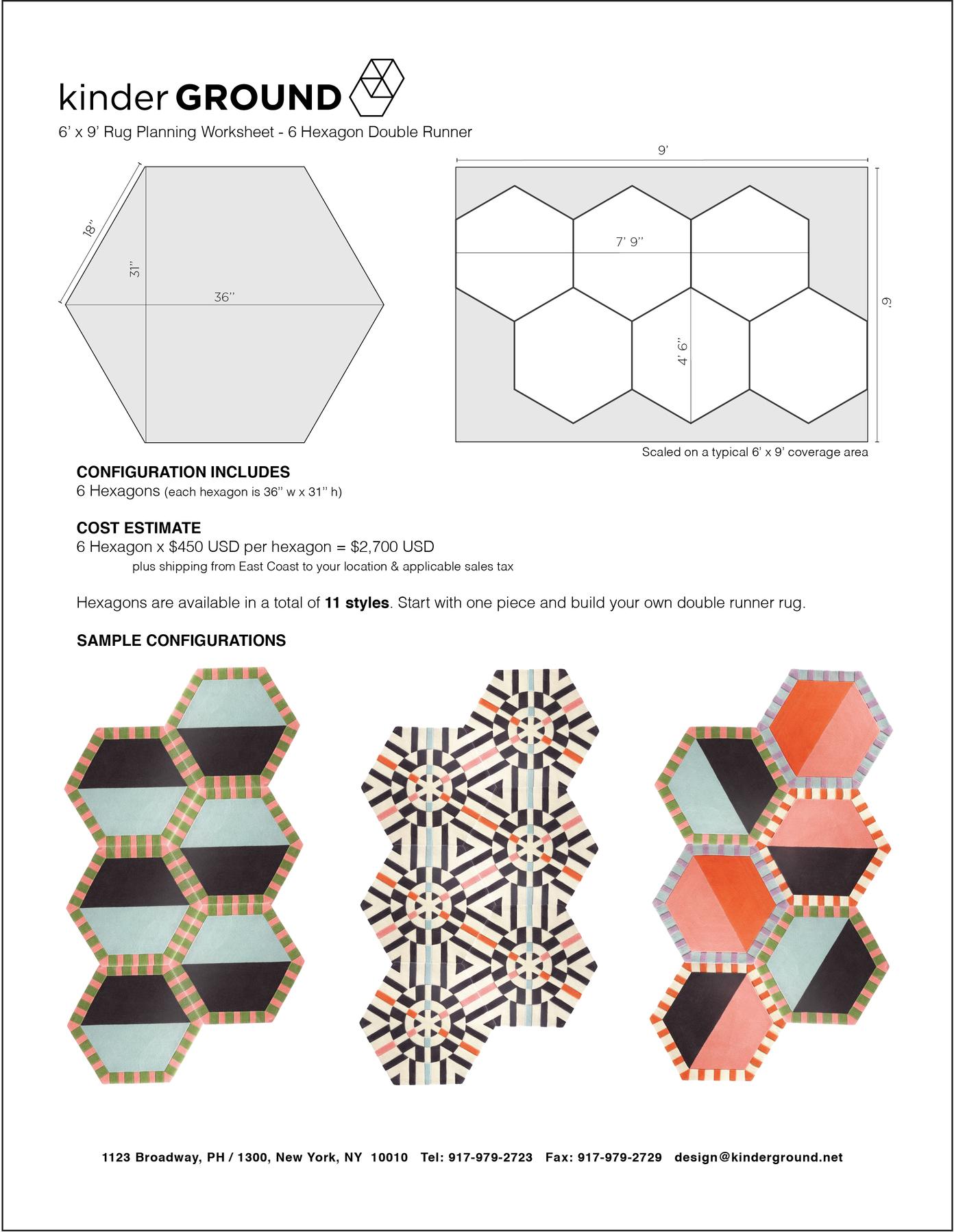 6-Hexagon Double Runner